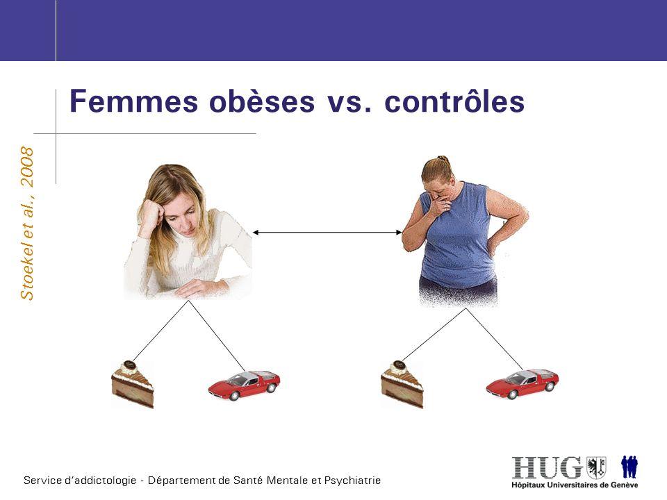 Femmes obèses vs. contrôles