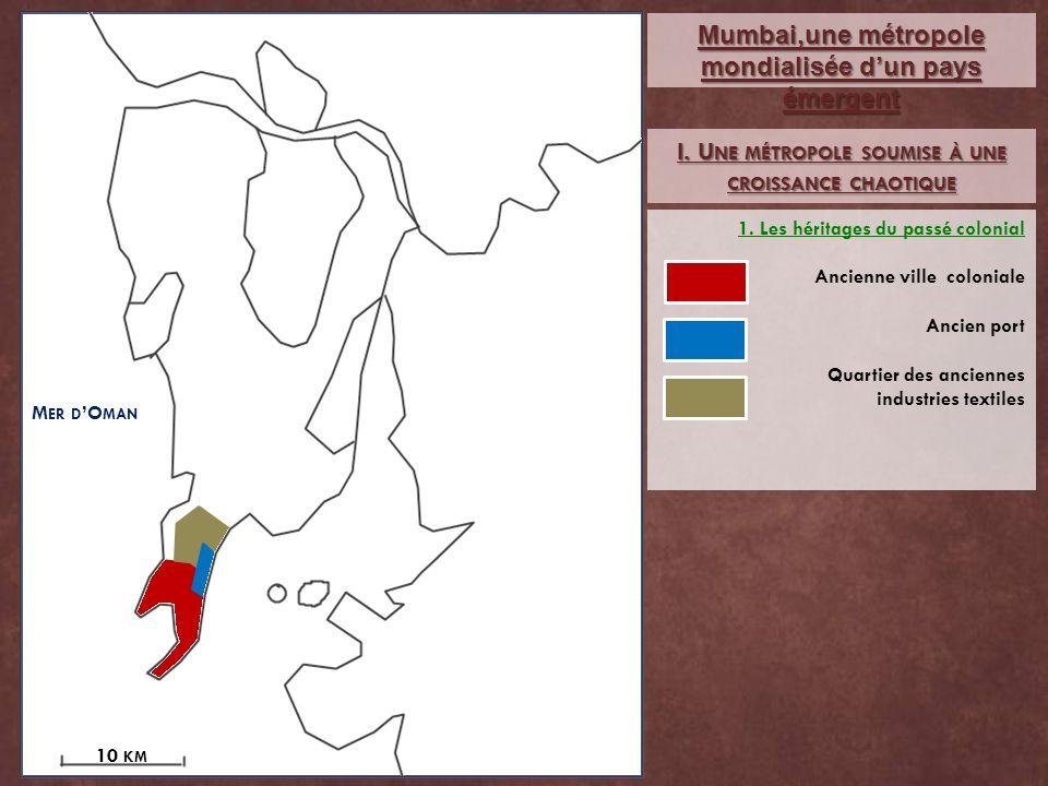 Mumbai,une métropole mondialisée d'un pays émergent