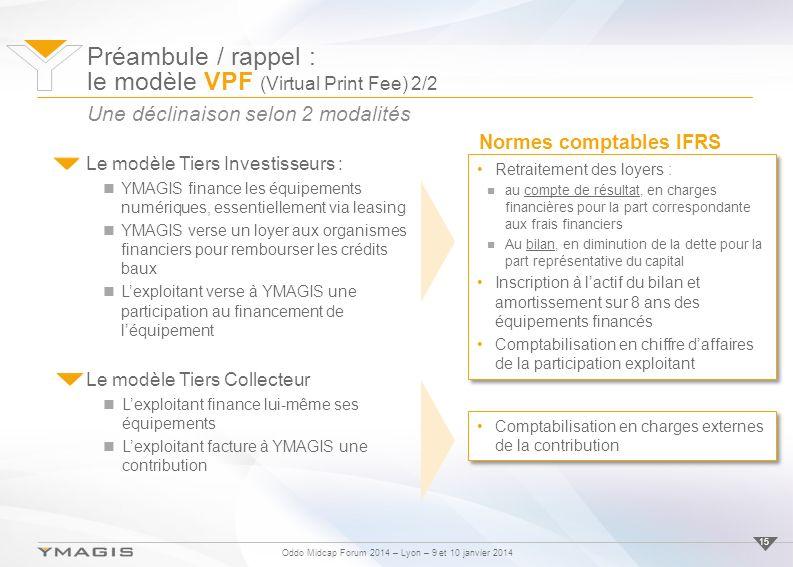 Préambule / rappel : le modèle VPF (Virtual Print Fee) 2/2
