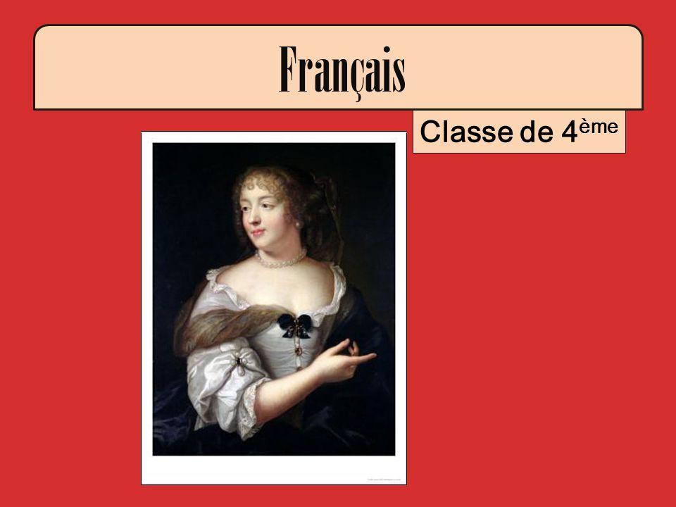 Français Classe de 4ème -La marquise de Sévigné, Claude Lefèbvre, 1665
