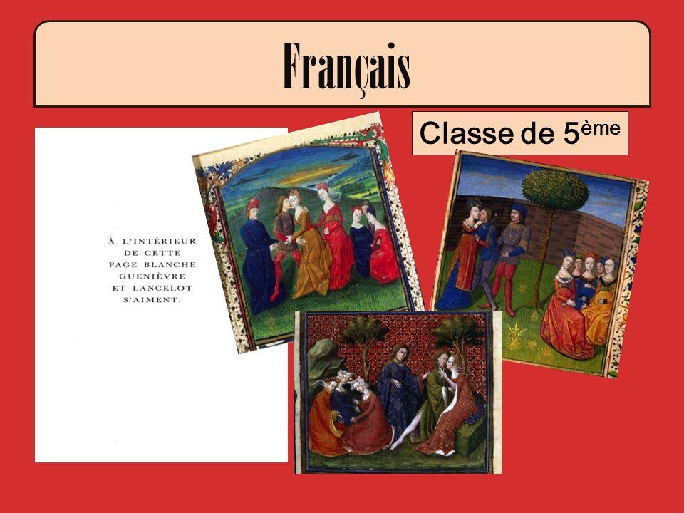 Français Classe de 5ème Extrait de L'enchanteur de René Barjavel
