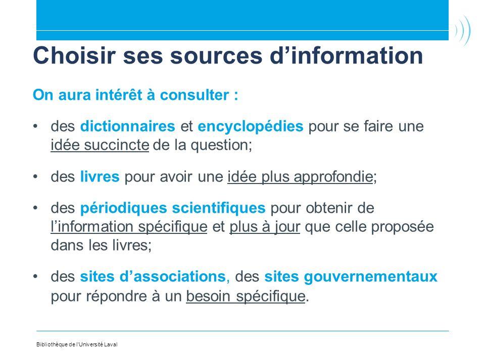 Choisir ses sources d'information