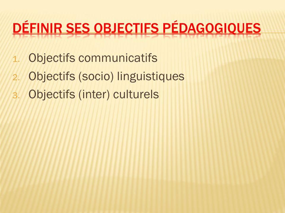 Définir ses objectifs pédagogiques