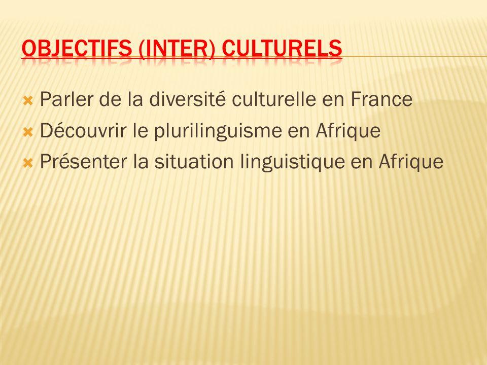 Objectifs (inter) culturels