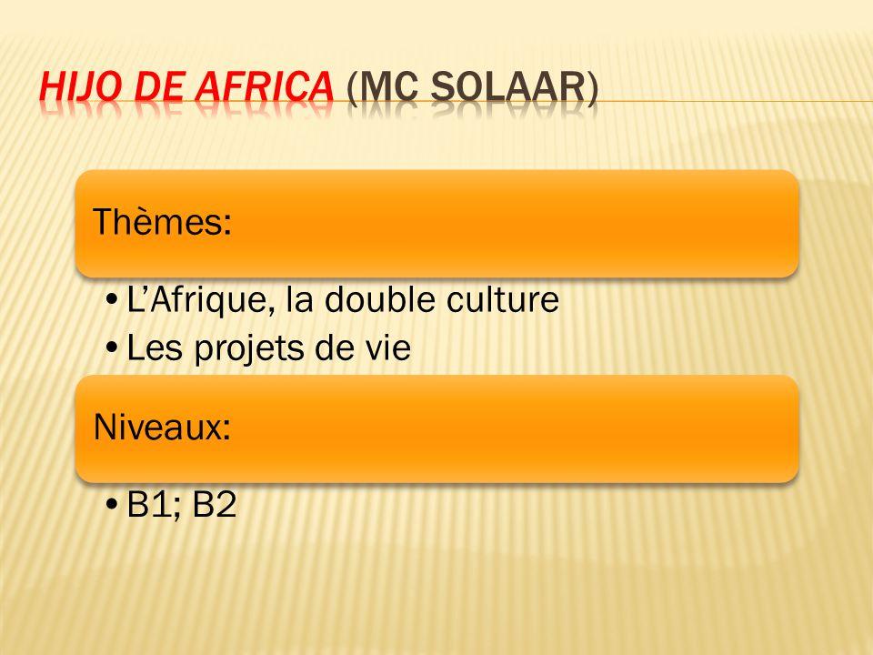 Hijo de Africa (Mc Solaar)