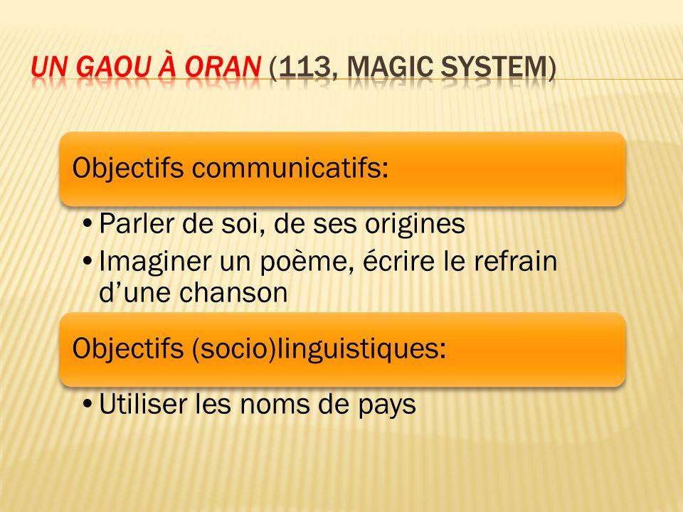 Un gaou à Oran (113, Magic System)