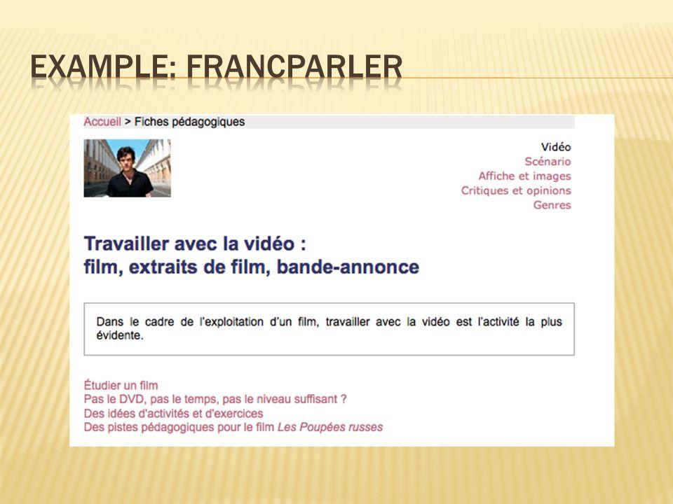 Example: francparler