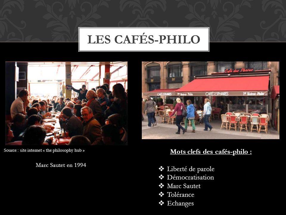 Mots clefs des cafés-philo :