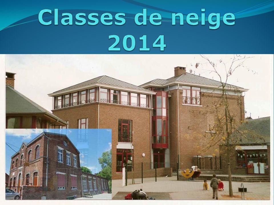 Classes de neige 2014