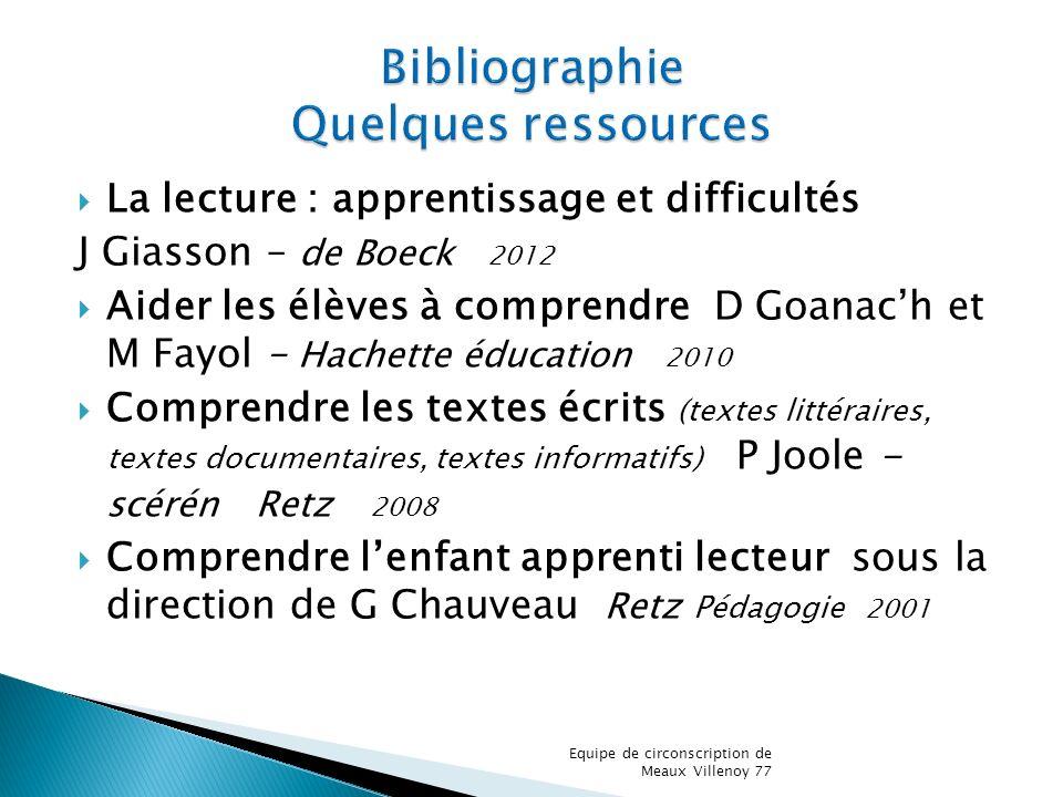 Bibliographie Quelques ressources