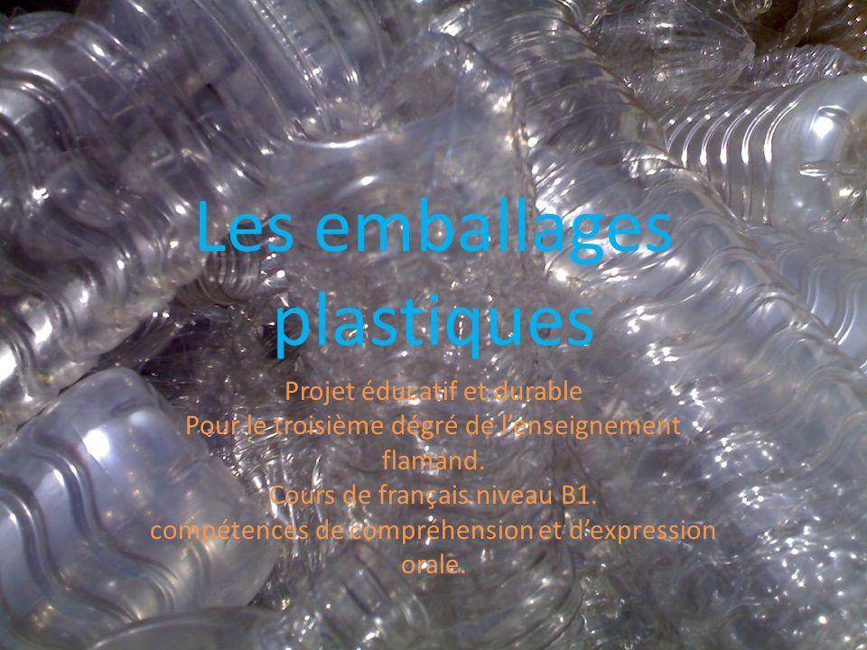 Les emballages plastiques