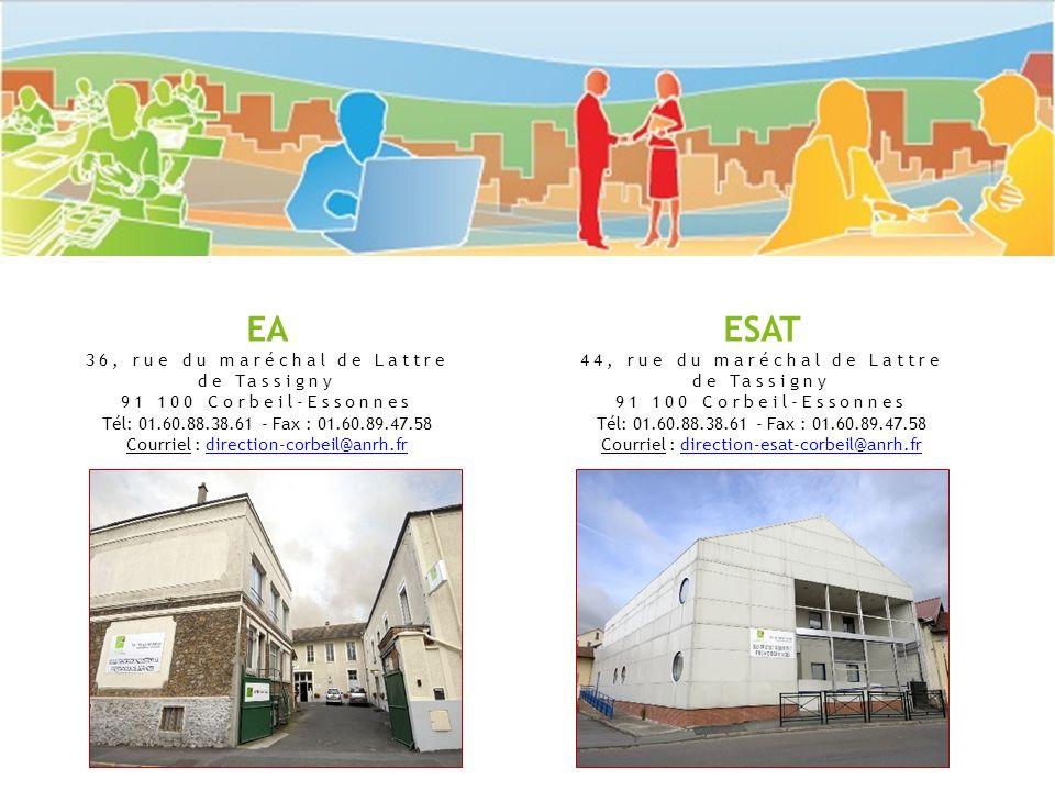 EA ESAT 36, rue du maréchal de Lattre de Tassigny