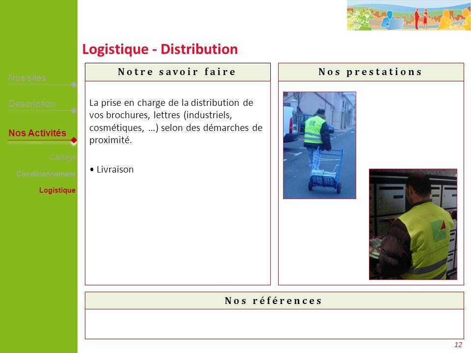 Logistique - Distribution