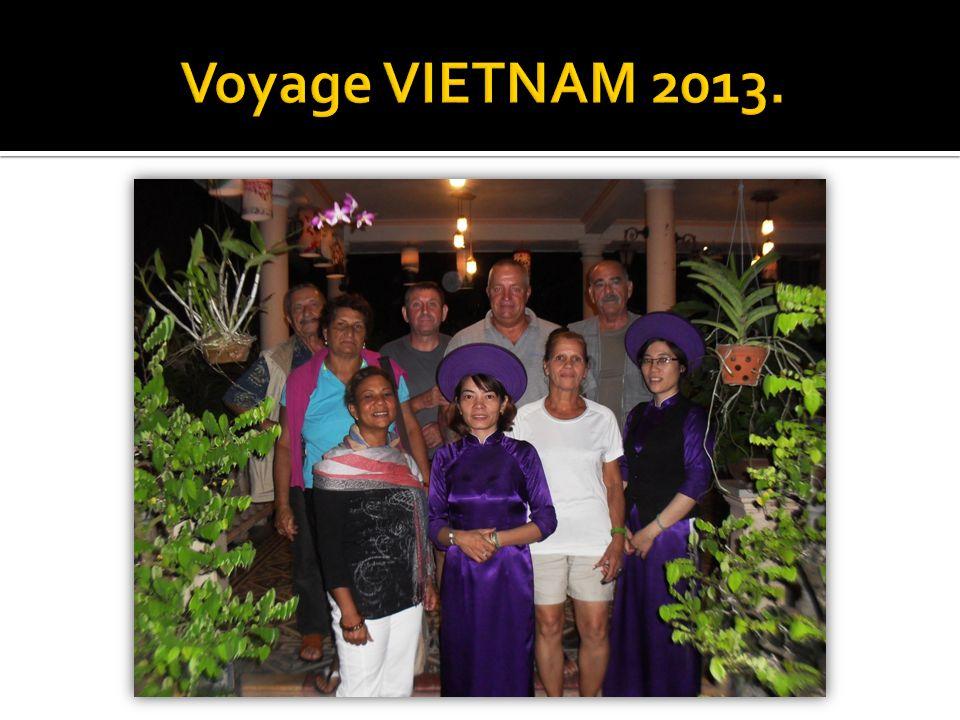 Voyage VIETNAM 2013.