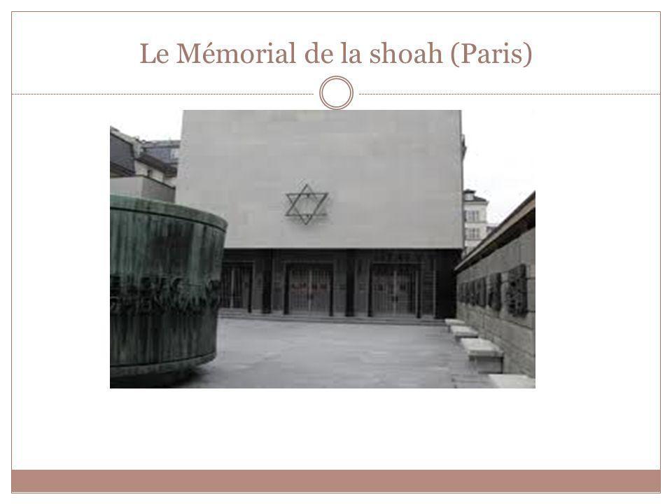 Le Mémorial de la shoah (Paris)