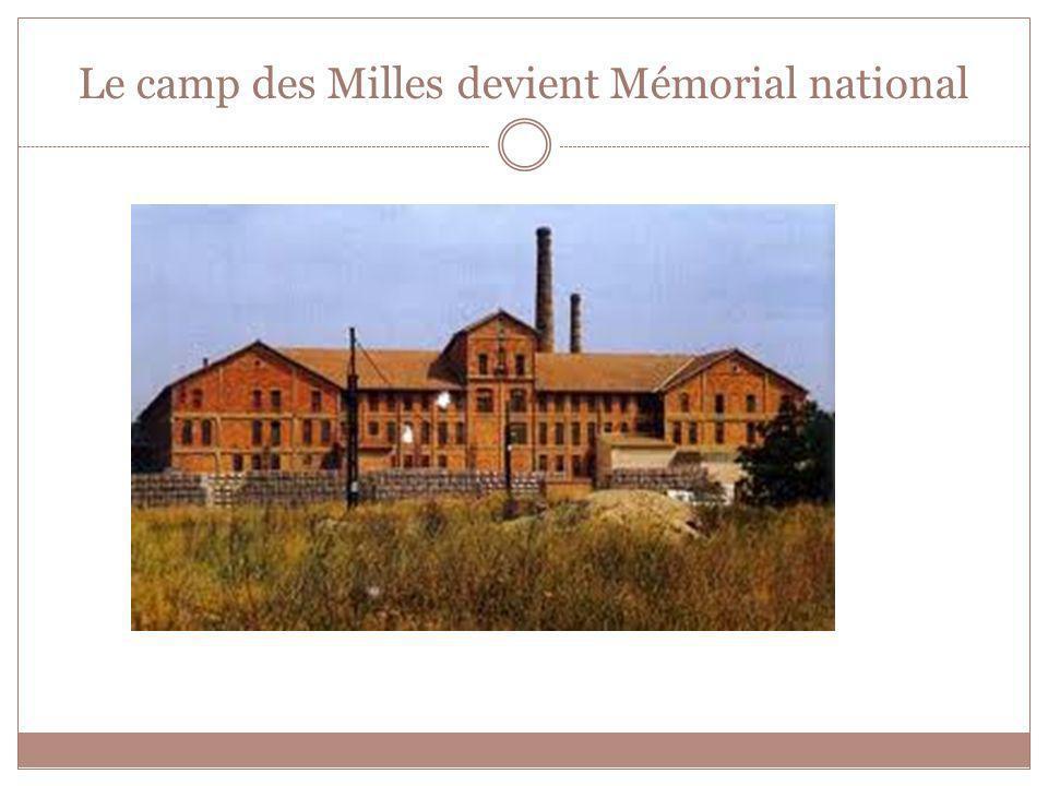Le camp des Milles devient Mémorial national