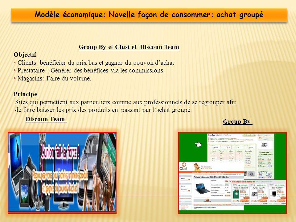 Modèle économique: Novelle façon de consommer: achat groupé