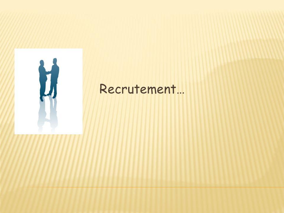 Recrutement…