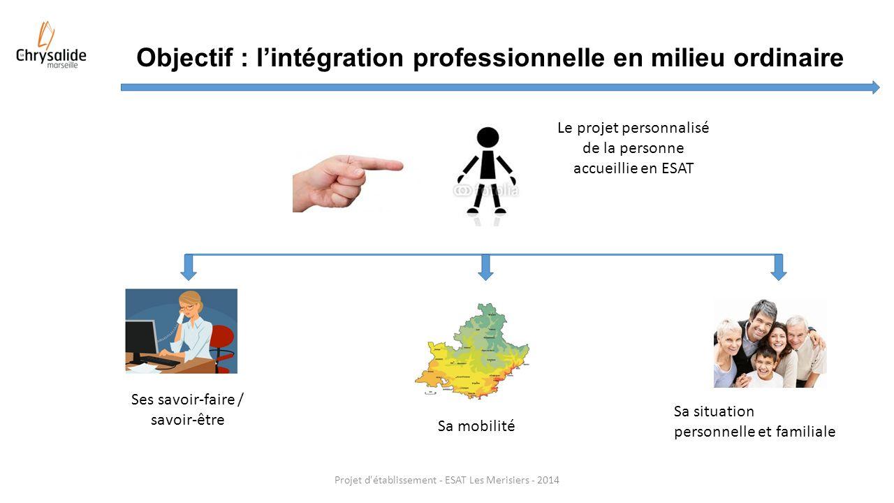 Objectif : l'intégration professionnelle en milieu ordinaire