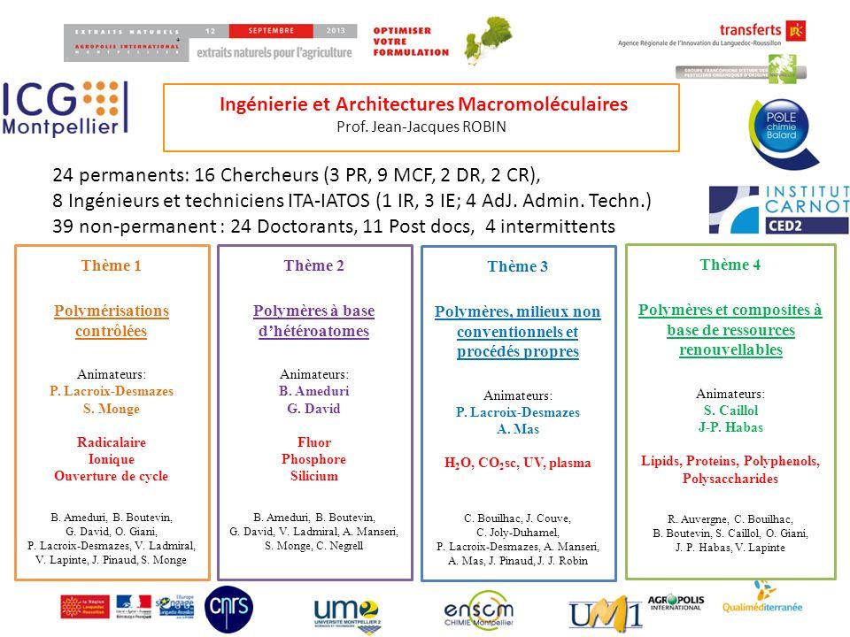Ingénierie et Architectures Macromoléculaires