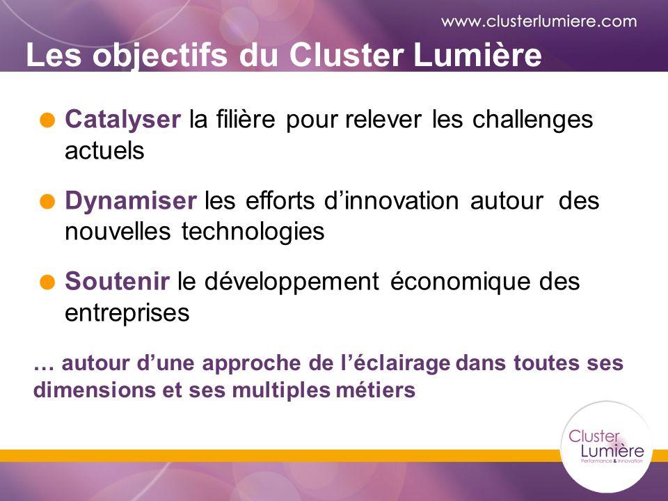 Les objectifs du Cluster Lumière