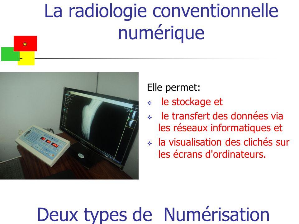 La radiologie conventionnelle numérique