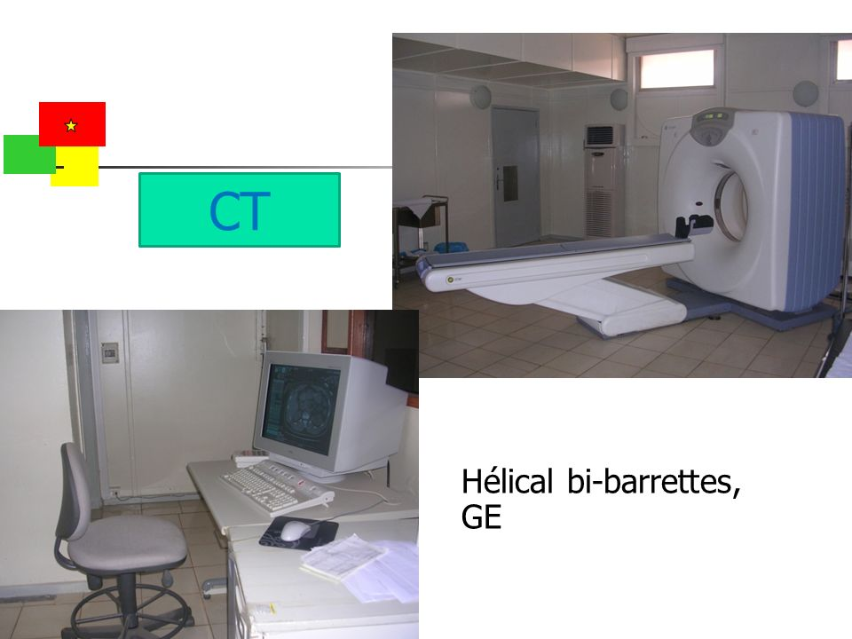 CT Hélical bi-barrettes, GE