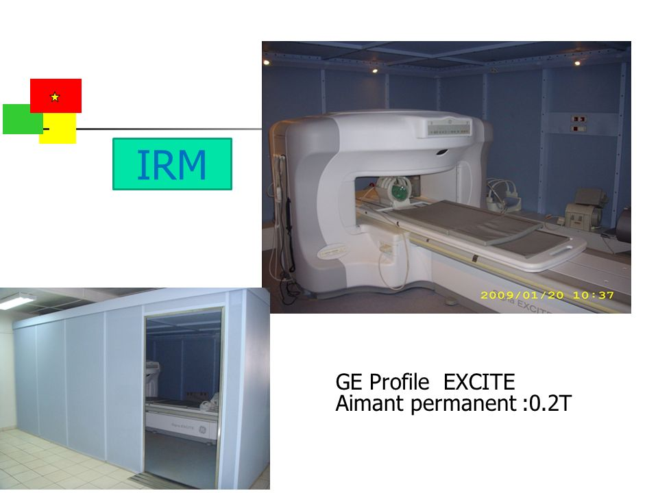 IRM GE Profile EXCITE Aimant permanent :0.2T