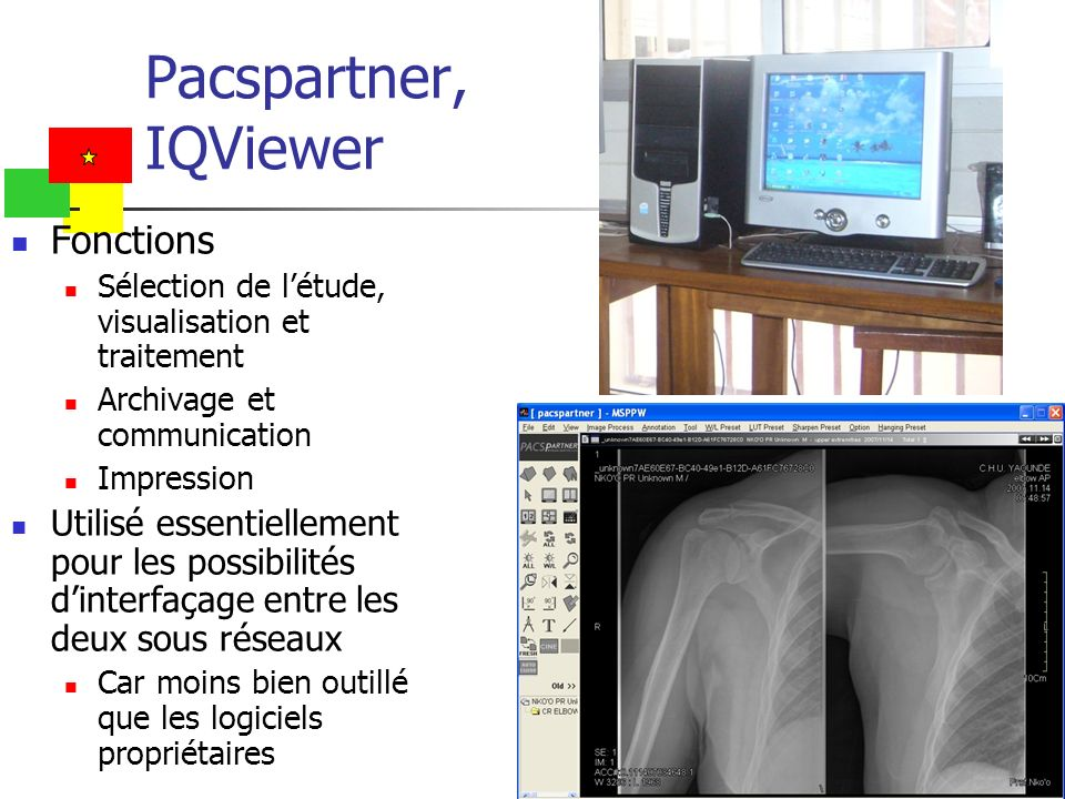 Pacspartner, IQViewer Fonctions