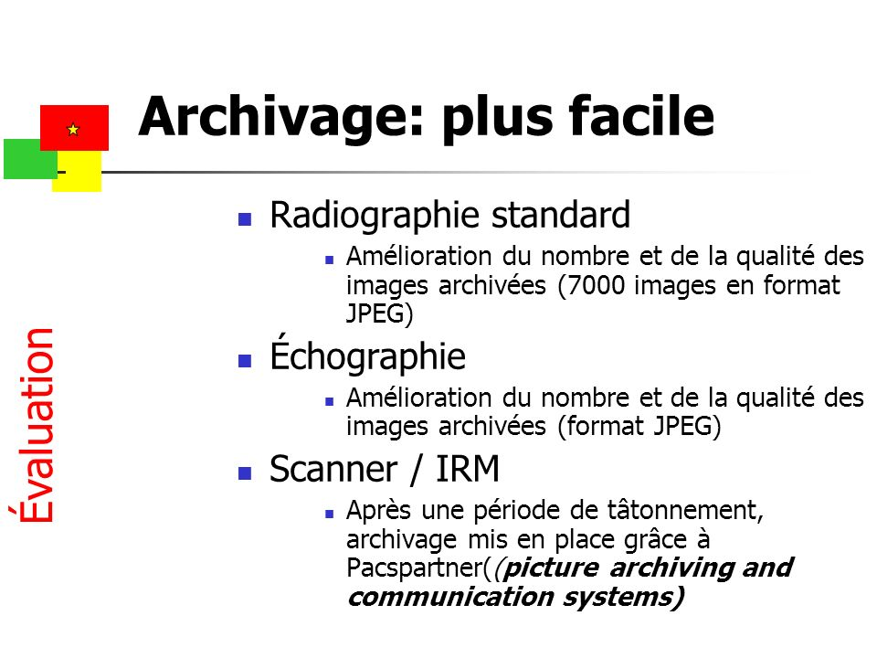 Archivage: plus facile