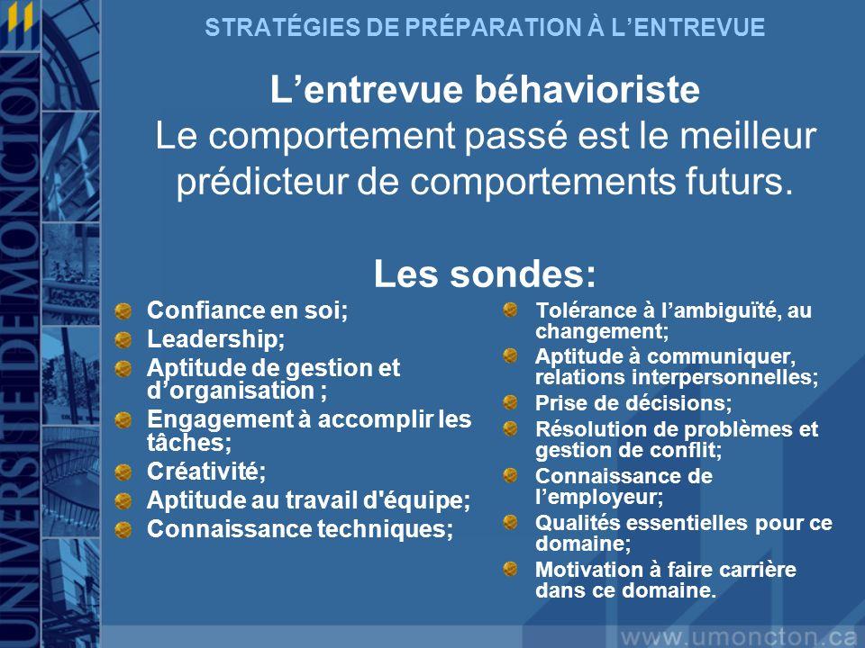 Aptitude de gestion et d'organisation ;