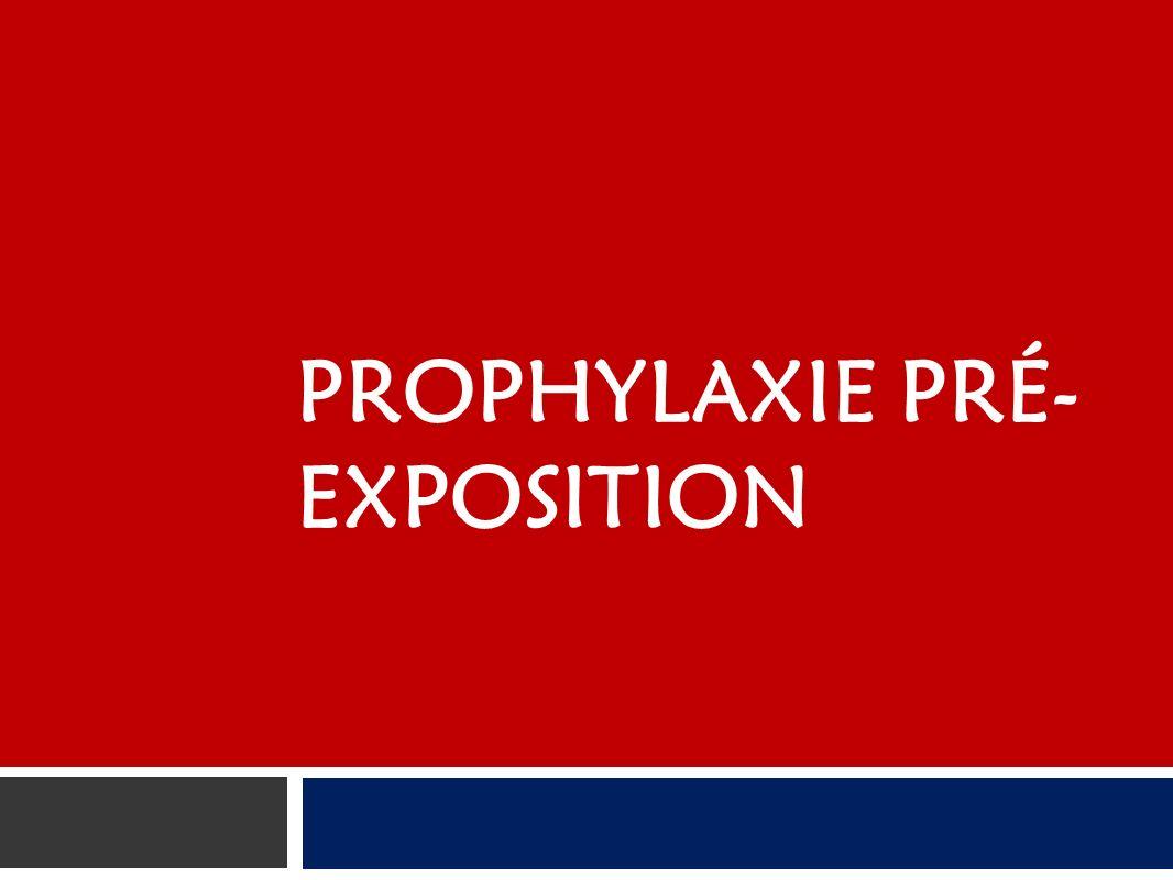 Prophylaxie pré-exposition