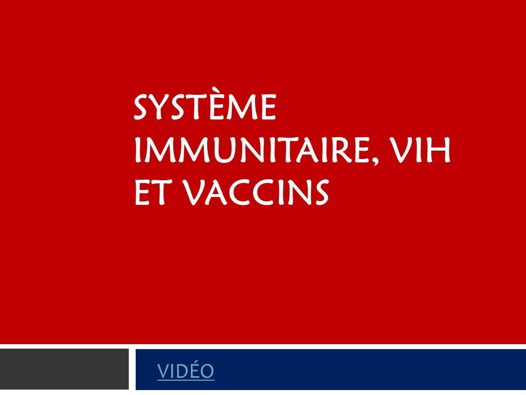Système immunitaire, VIH et vaccins