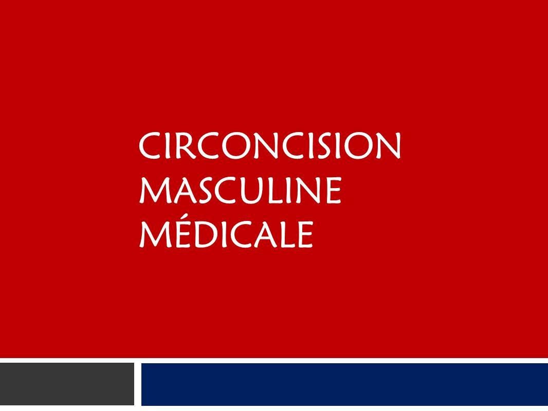 Circoncision masculine médicale
