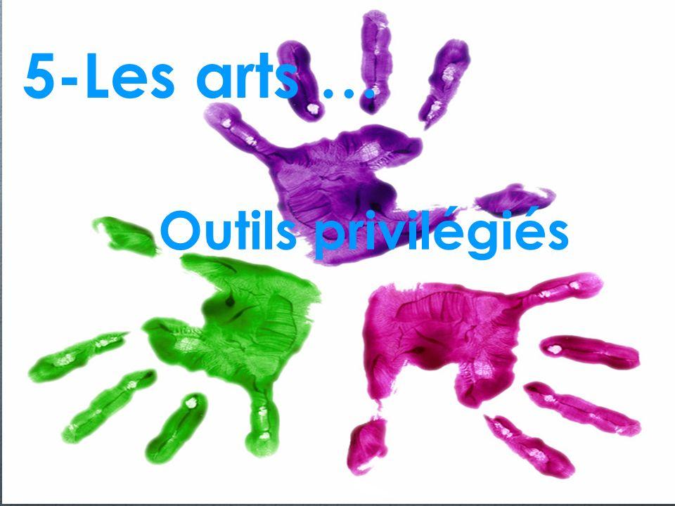 5-Les arts … Outils privilégiés