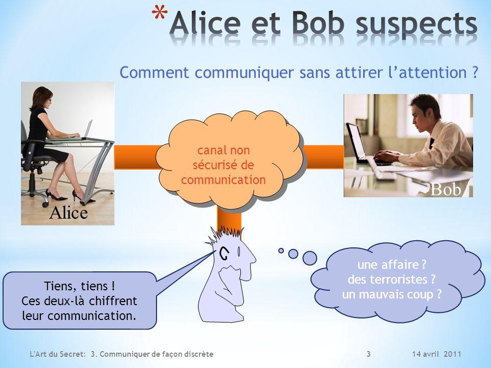 Alice et Bob suspects Bob Alice