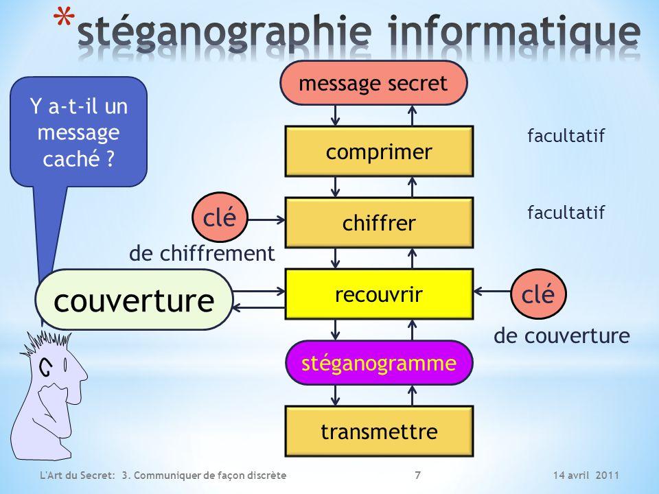 stéganographie informatique
