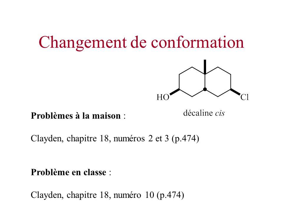 Changement de conformation