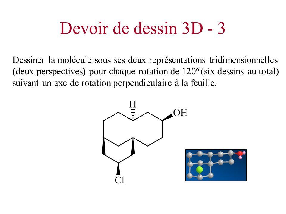 Devoir de dessin 3D - 3