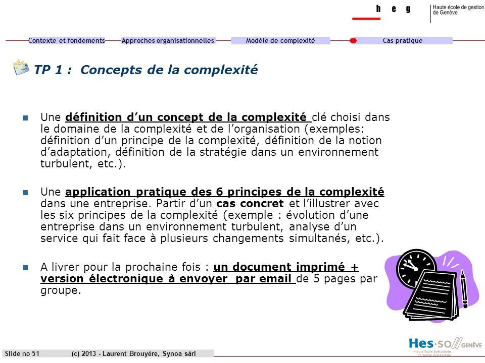 TP 1 : Concepts de la complexité