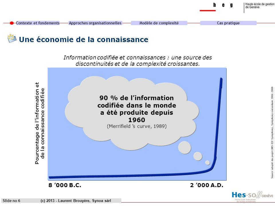 Une économie de la connaissance