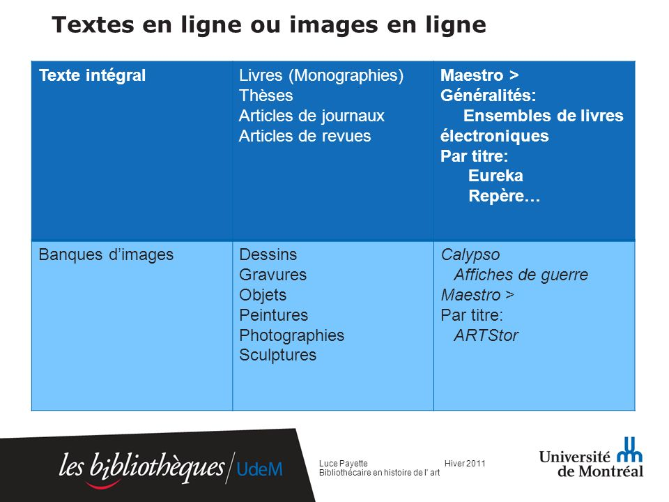 Textes en ligne ou images en ligne
