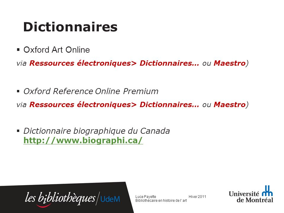 Dictionnaires Oxford Art Online Oxford Reference Online Premium