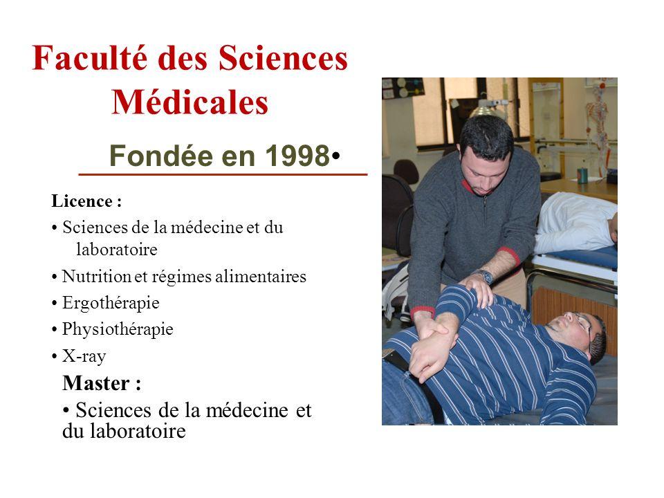 Faculté des Sciences Médicales