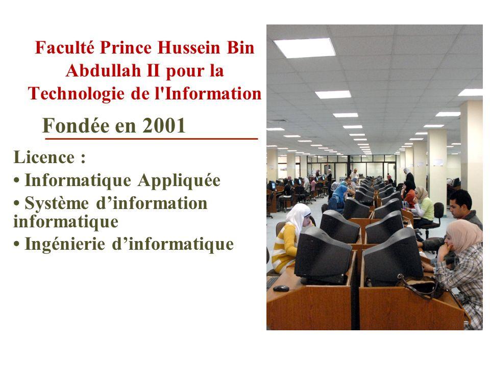 Faculté Prince Hussein Bin Abdullah II pour la Technologie de l Information