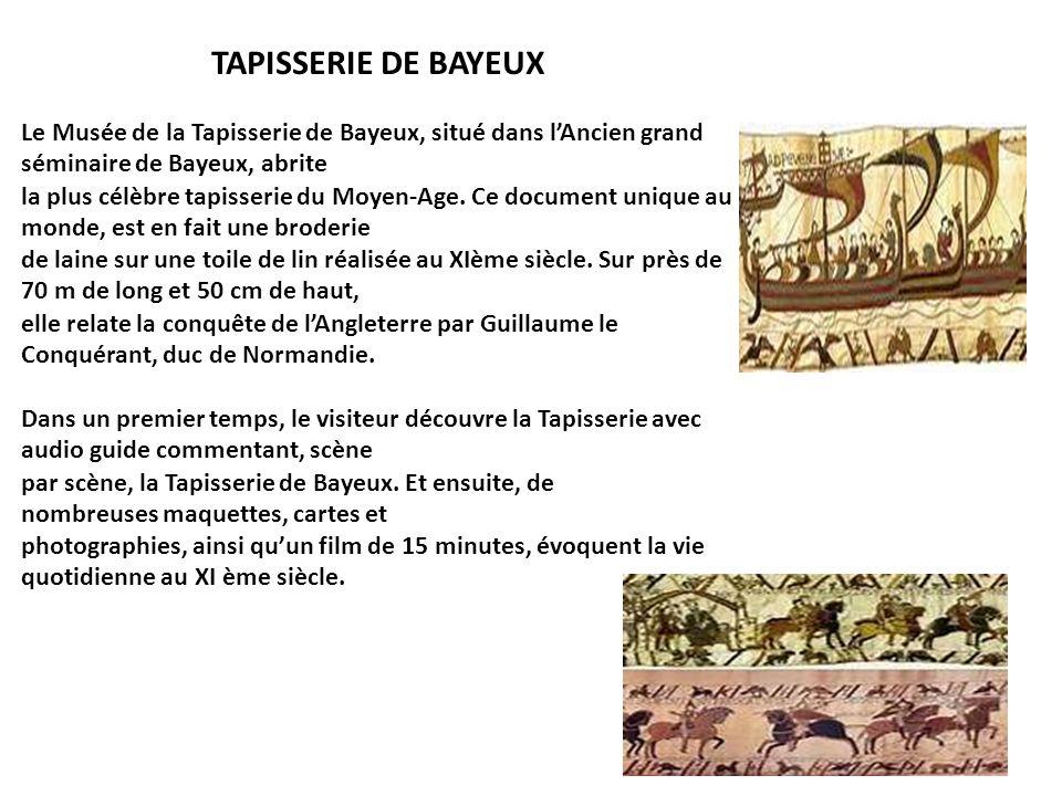 Sejour a flamanville du samedi 30 mars au lundi 1er avril - Qu est ce que la tapisserie de bayeux ...