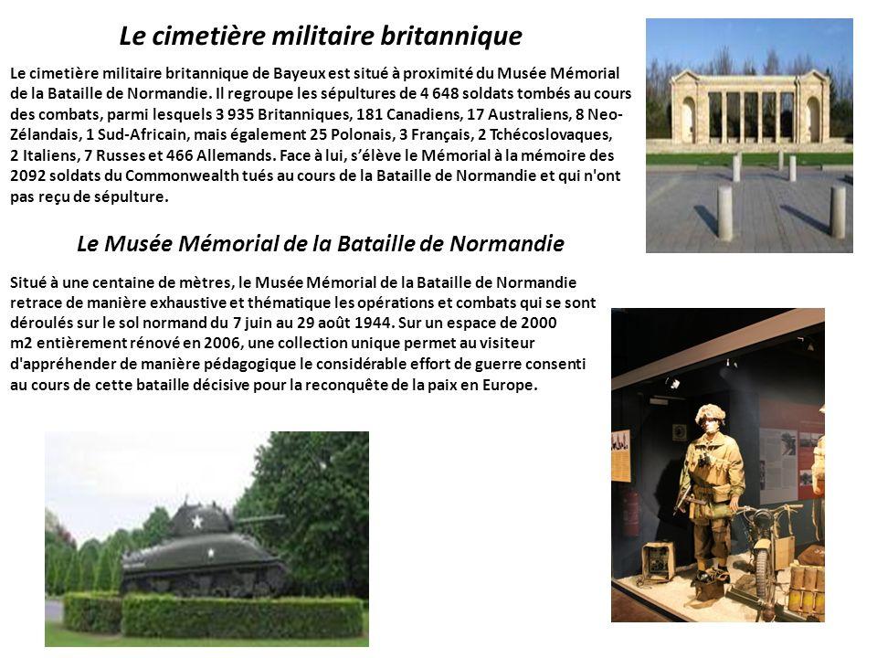Le cimetière militaire britannique