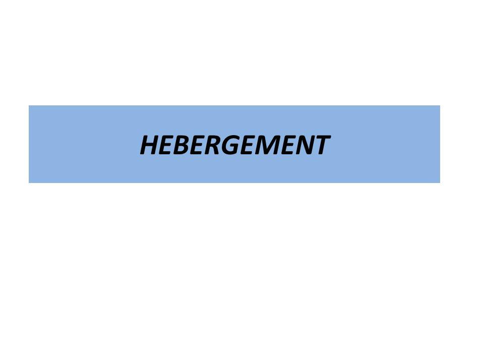 HEBERGEMENT