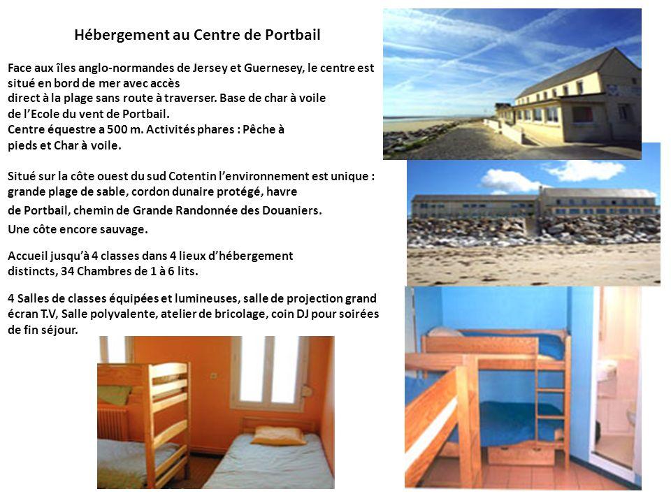 Hébergement au Centre de Portbail