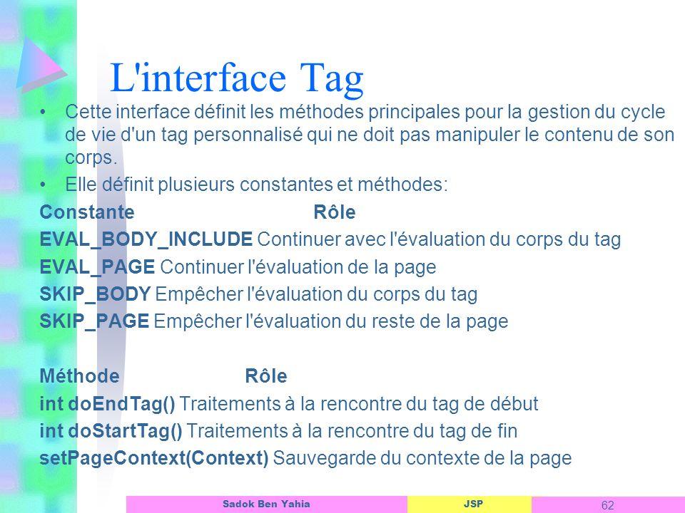 L interface Tag